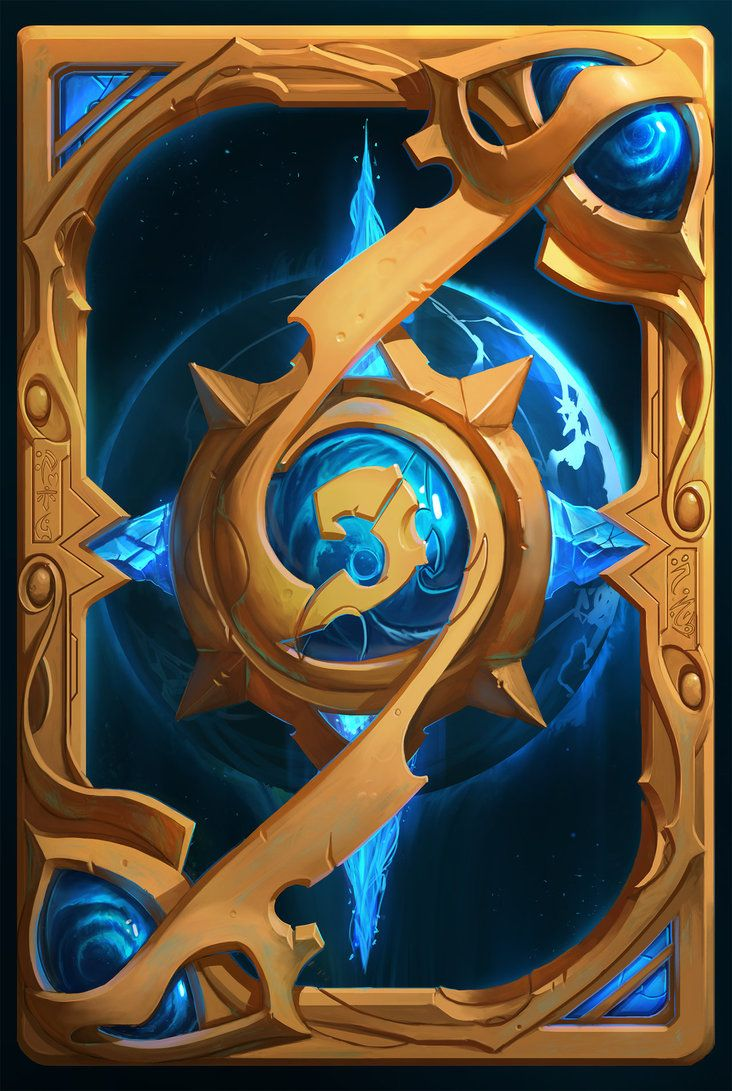 Been doing a lot of Blizzard fan art recently, but didn't do anything hearthstone related yet  Here's a take on what a Legacy Of The Void Collector card back could be. Now let's try a z...