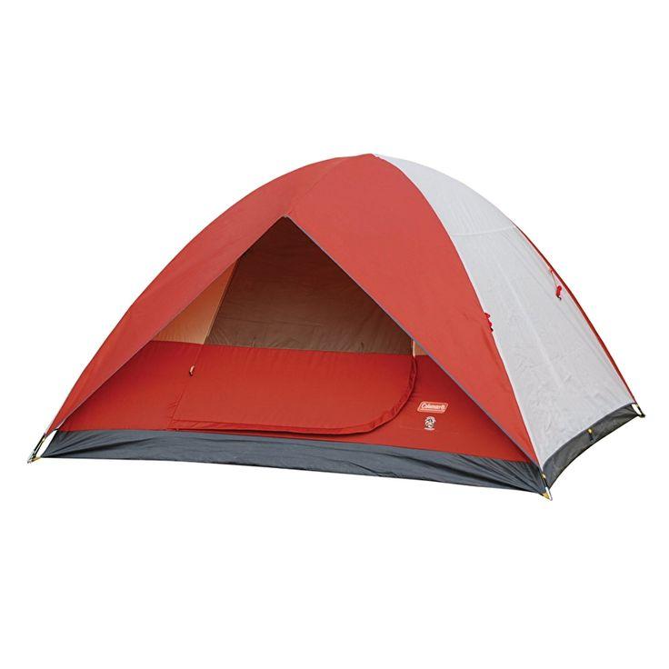 Coleman 10938A Sundome Tent 6P (RedWhite) | Lazada PH