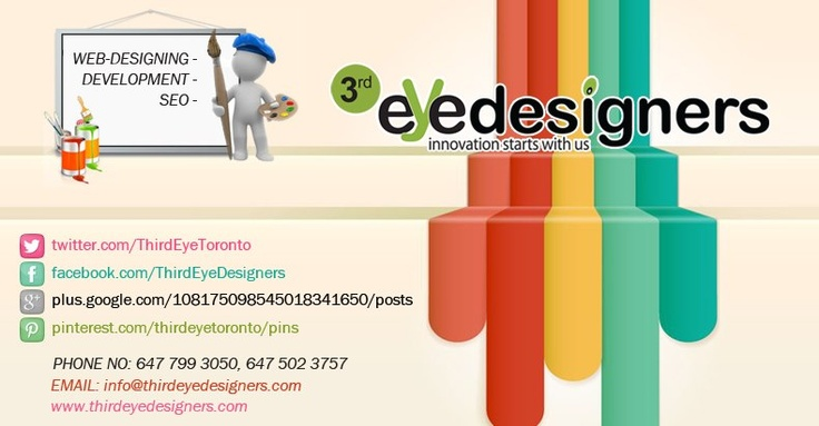 Affordable & Reliable Website Design, Web Development & SEO Services for Your Needs. Get Free Quote at: http://www.thirdeyedesigners.com/request-a-quote.html