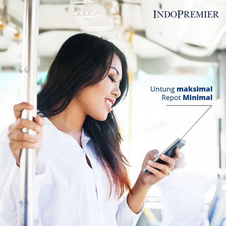 Investasi Reksa Dana semakin mudah dengan IPOTFUND, yang dapat diakses melalui handphone 24/7. Sehingga kapanpun dimanapun, tetaplah melek dengan investasi Anda  #IndoPremier #IPOTFUND #Investasi #reksadana #investasiviachat #belireksadanaviachat #pertamadiindonesia