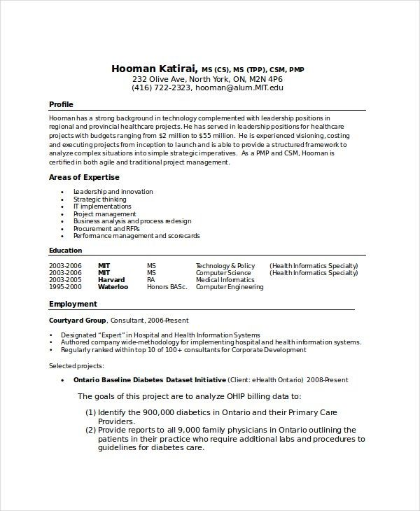 Resume Format Computer Science 2-Resume Format Sample resume