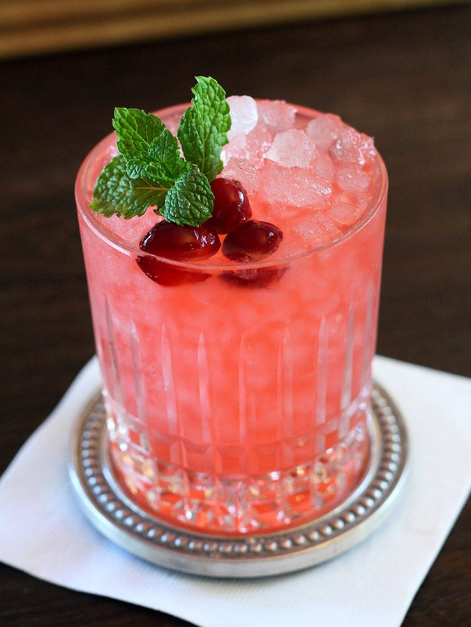 Cranberry Ginger Fizz Cocoktail