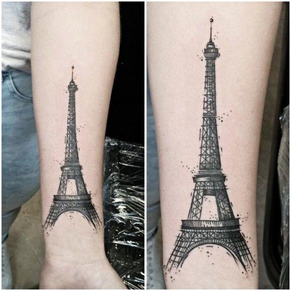 Eiffel tower by Michael Werner.