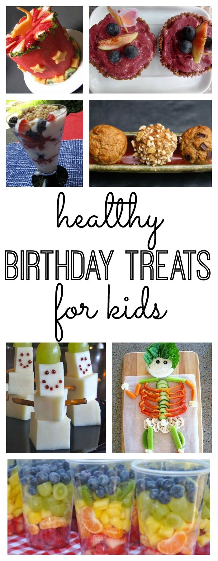 Looking for healthy birthday treats for yourself or your kids? Here are a few healthy birthday recipes to consider.