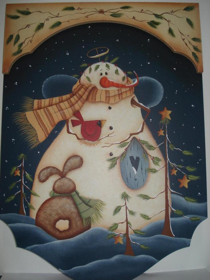 Snowman - Renee Mullins Seminar