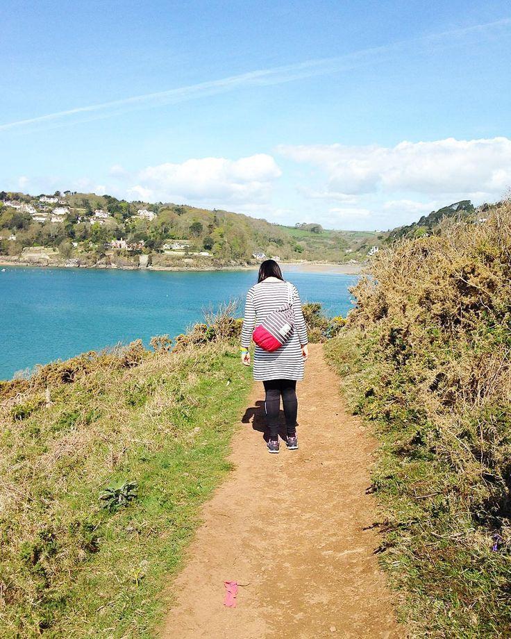 A snap shot from a few days ago - the walk from Gara Rock to Millbay in Devon
