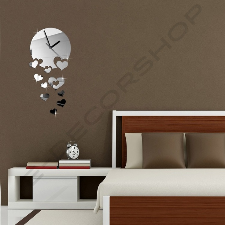 53 best images about Decorative Wall Mirror Clock on ...