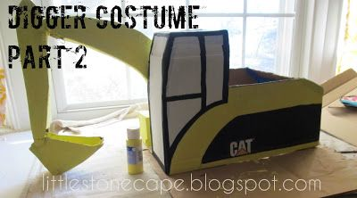 In the Little Stone Cape: Digger Costume Part 2