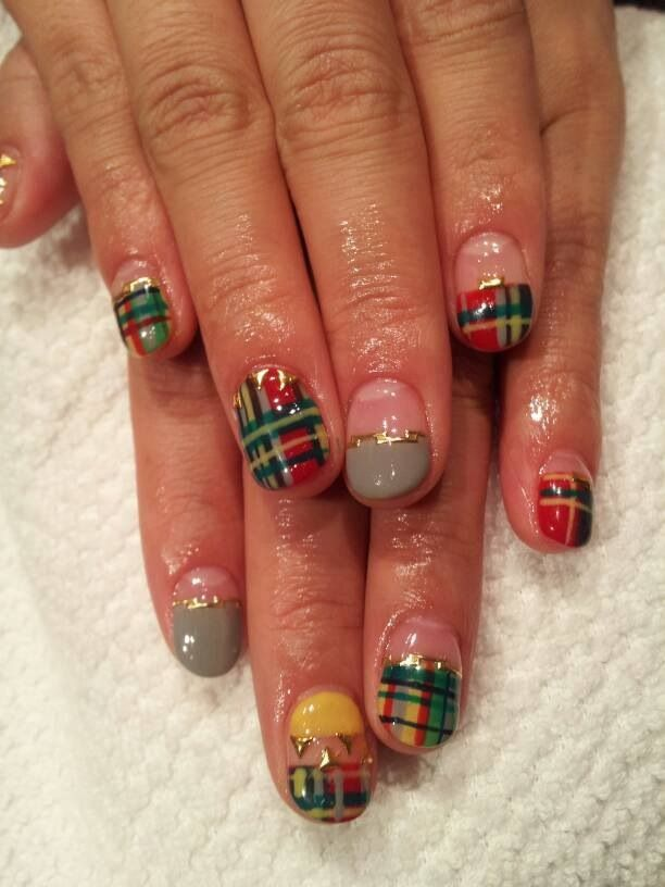 Christmas nails by momi