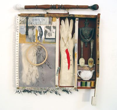 Clare Murray Adams - Hands On: Assemblages Art, Abstract Assemblages