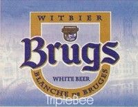 Label van Brugs Tarwebier