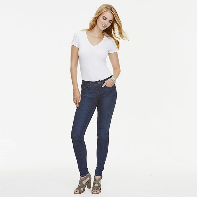 thewhitecompany . Jeans and a white T-shirt are the perfect combination.