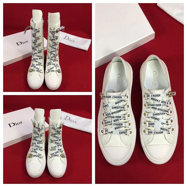 Dior Canvas J'Adior Laces High-Top