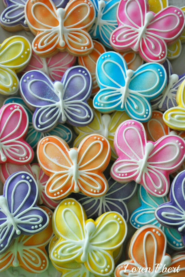 Butterfly cookies                                                       …