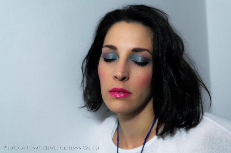 Peacock makeup 2