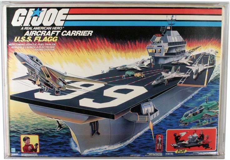 80s Toys For Boys : Uss flagg aka the holy grail of s boys toys toyzzzz