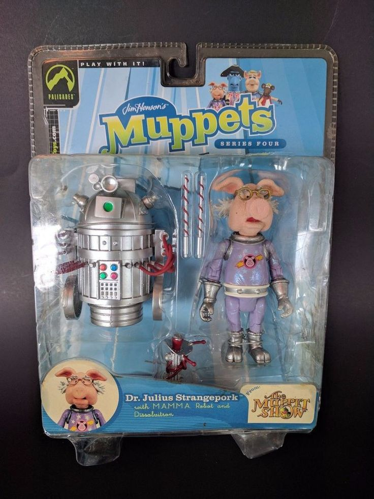 The Muppets Show Dr Julius Strangeprok w MAMMA Robot Series 4 Palisades Toys #Palisades