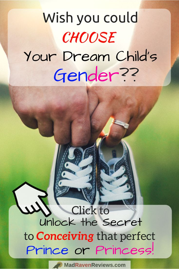 """Ever want to conceive that child of your dreams? Want that cute little Princess or handsome Prince that grows up to be a football star? Click to discover the secret on how to choose baby gender with our review of """"How to conceive the gender of your choice"""" by Ashley Spencer!     -Kevin @MadRavenReviews"""