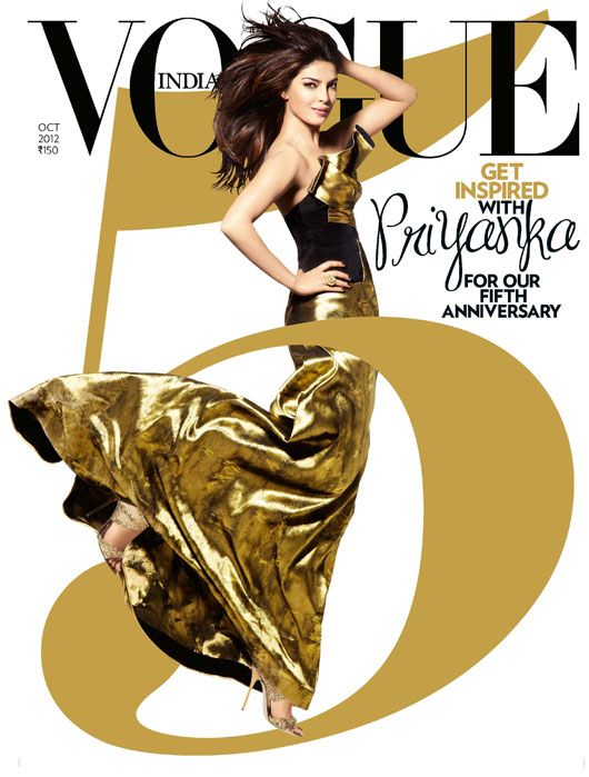 Scarlet Bindi - South Asian Fashion: Vogue India October 2012