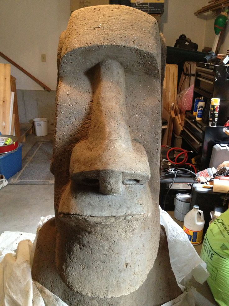 Moai Easter Island Head Sculpture I Wanted To Create
