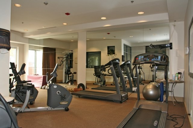 Exercise room this condo has everything plus sold