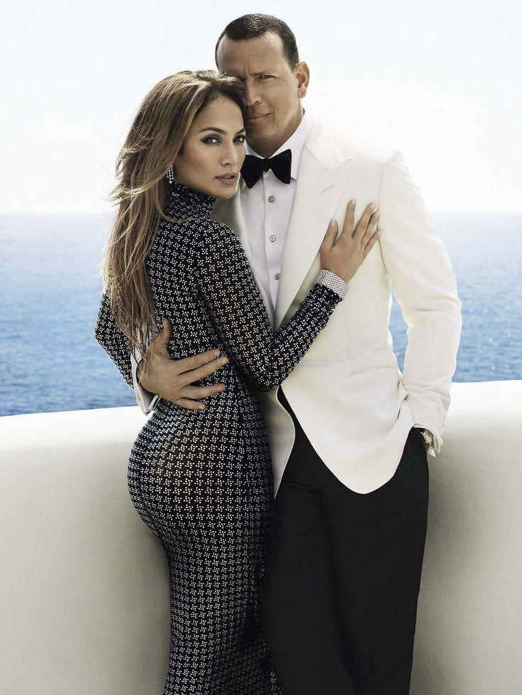 Jennifer López y Alex Rodríguez para Vanity Fair US por Mario Testino
