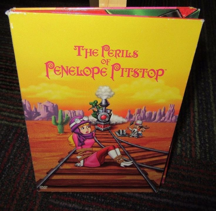 THE PERILS OF PENELOPE PITSTOP - THE COMPLETE SERIES 3-DISC DVD SET, GUC