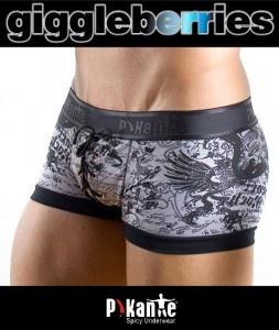 Pikante Peace and Love Boxer Mens Underwear
