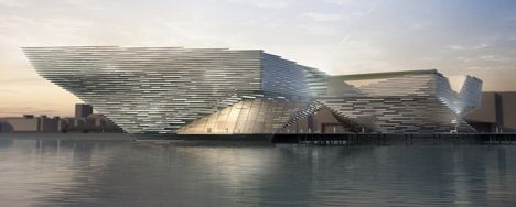 The new V Museum planned for Dundee
