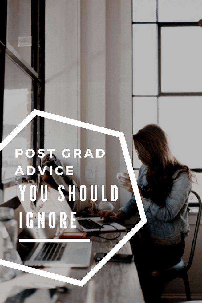 Post-Grad Advice you Should Ignore | Simplistic Steph