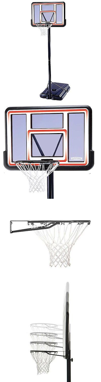 Backboard Systems 21196: Lifetime 1269 Pro Court Height Adjustable Portable Basketball System, 44 Inch -> BUY IT NOW ONLY: $158.41 on eBay!