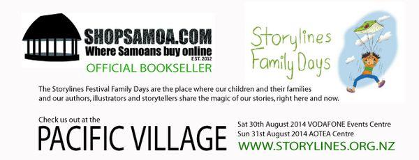 Storylines Festival partners with ShopSamoa.com | Shop Samoa - http://goo.gl/e4cZSM