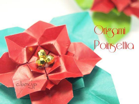 Hogyan lehet hajtani origami mikulásvirág. Karácsonyi piros virág, hogyan lehet | felnőtt origami belülről