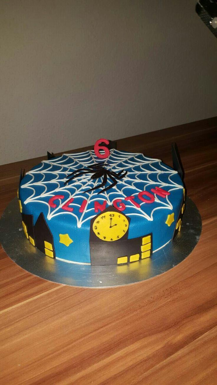 Spiderman Torte!