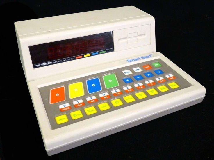 Vintage VTECH Smart Start Electronic Learning Computer 1987 WORKS #VTech