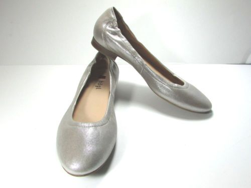 Hogl-Leather-Shiney-Gold-Ballerina-Shoe-Size-UK-6-5-or-US-8-5