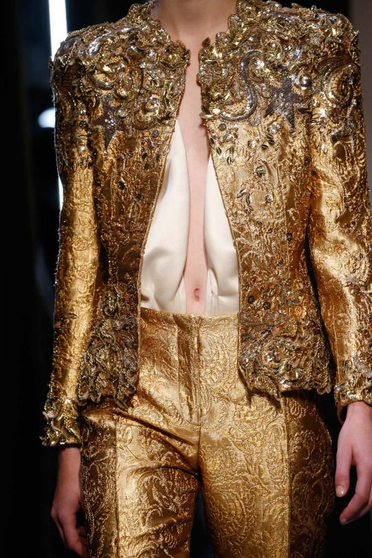 Schiaparelli Fall 2015 Couture Collection ~ details