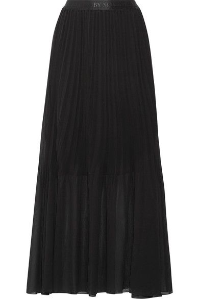 BY MALENE BIRGER Lallah pleated chiffon maxi skirt. #bymalenebirger #cloth #