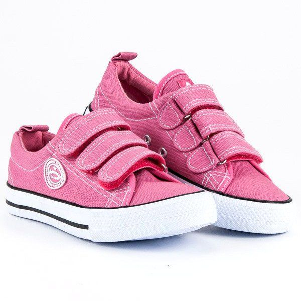 Trampki Dla Dzieci Americanclub Rozowe Sportowe Trampki Na Rzep American American Club Baby Shoes Shoes Fashion