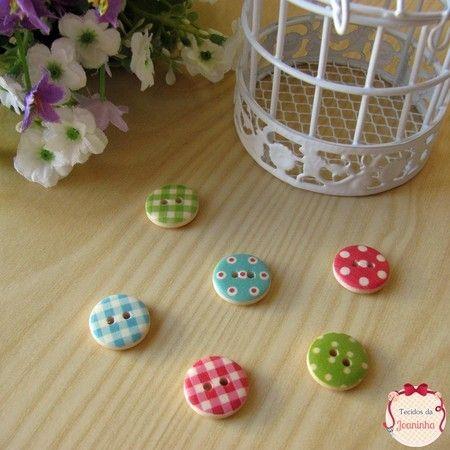 KIT 06 botões {BOT07}