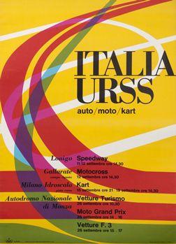 Huber, Max poster: Italia URSS