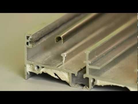 How To Install A Sliding Glass Door Track Cover; Combine With New Rollers  And Your