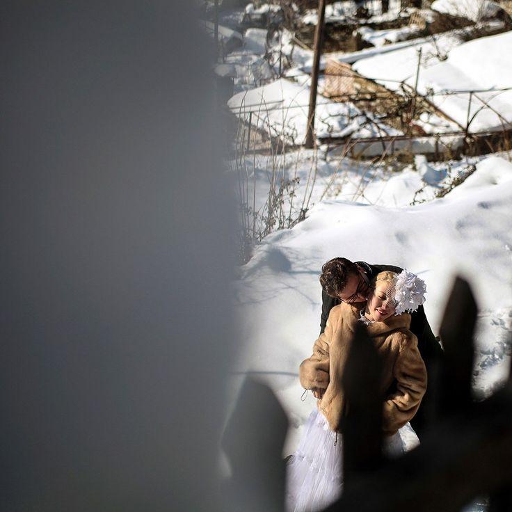 winter wedding at papigko