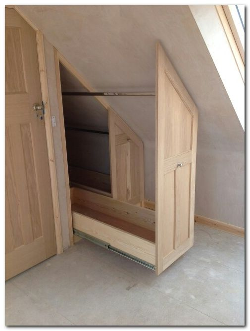 Best 25 attic conversion ideas on pinterest attic attic loft and attic renovation - Wardrobe solutions for small spaces paint ...
