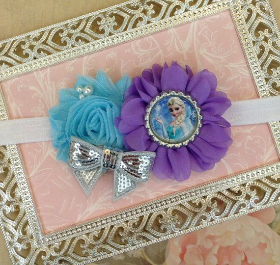 10 OFF...Disney Frozen Headband  Frozen by MyLittleCraftyCorner, $8.99