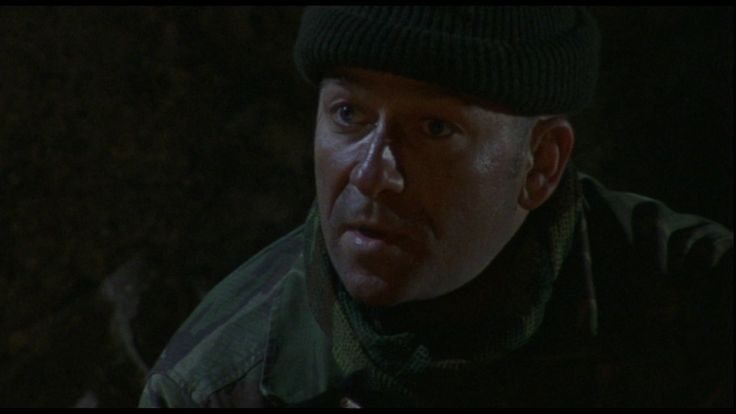 """""""Either way, it taught me to keep a very open mind. Boom boom."""" Sarge finishes his campfire story in Dog Soldiers."""