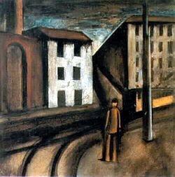 Mario Sironi - Les paysages urbaines