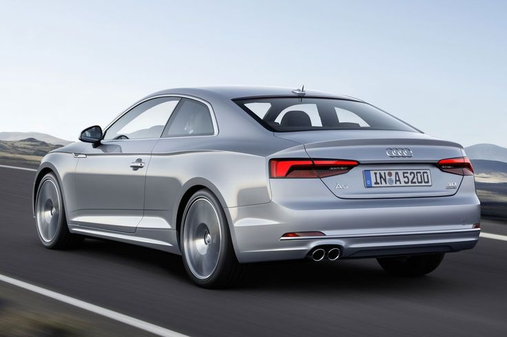 The new 2017 Audi A5 Coupé