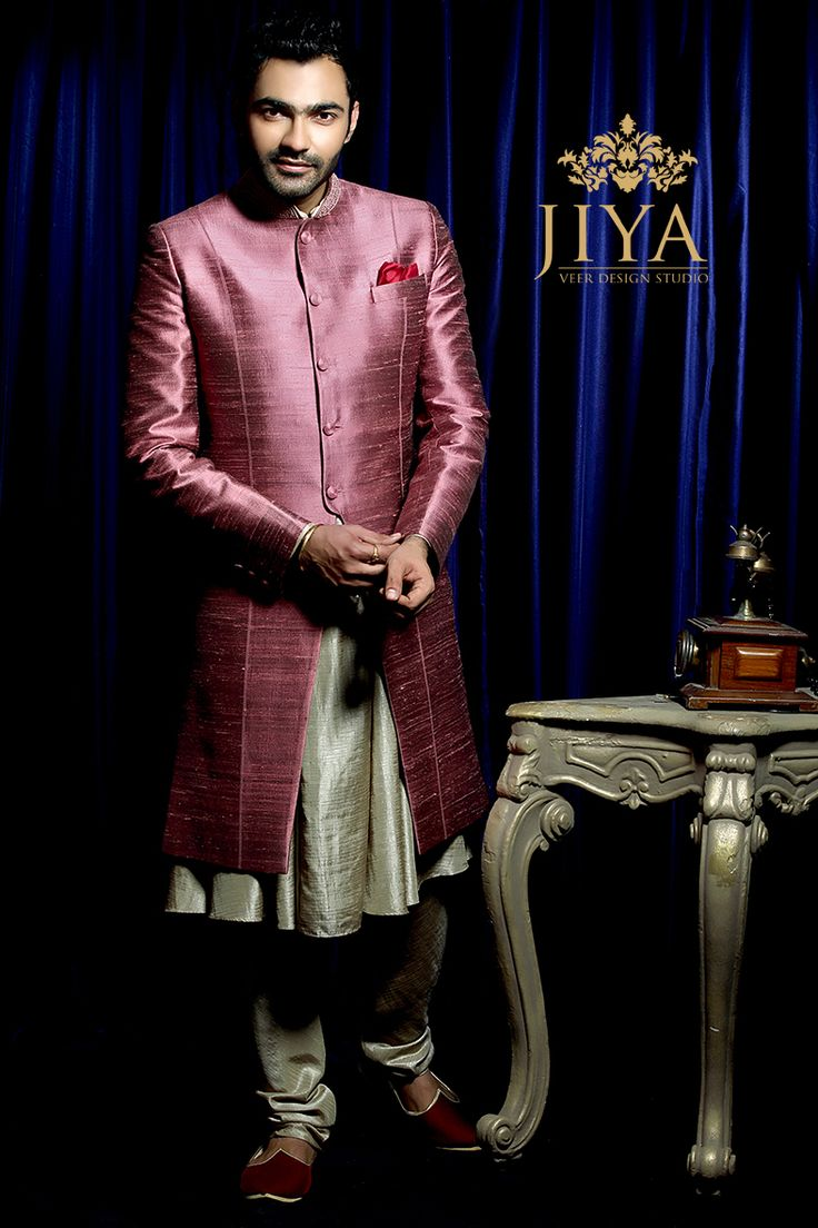 Imagine how charming your man could look in this Kairav Sherwani. It's worth every dream. #sherwani #menswear #indianmenswear #suave #vintage #styling #menswear #groomwear #mensstyling #groomstyle #meninstyle #instamen #achkan #angrakha #bandhgala #kurta #offwhite #pearl #weddinginspiration #groomstyle #indianmenswear #indiangroomwear #groomwearinspiration #ootd #potd #picoftheday #instagram