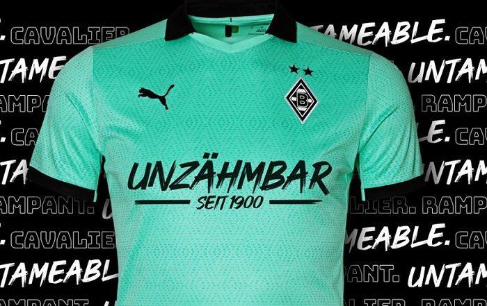 Borussia Monchengladbach 2020 Unzahmbar Puma Kit Football Fashion Mens Tops Mens Tshirts Shirts